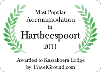 Most Popular Accommodation in Hartbeespoort